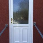PVCu back door