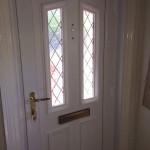 PVCu front door - inside view