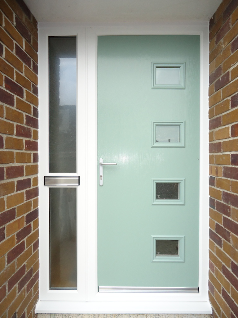 Modern composite front door for Composite front doors
