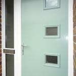 Composite front door - close up