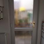 Back door - Inside view