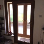 Front door & french doors - Inside view