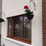 Casement windows in Oak